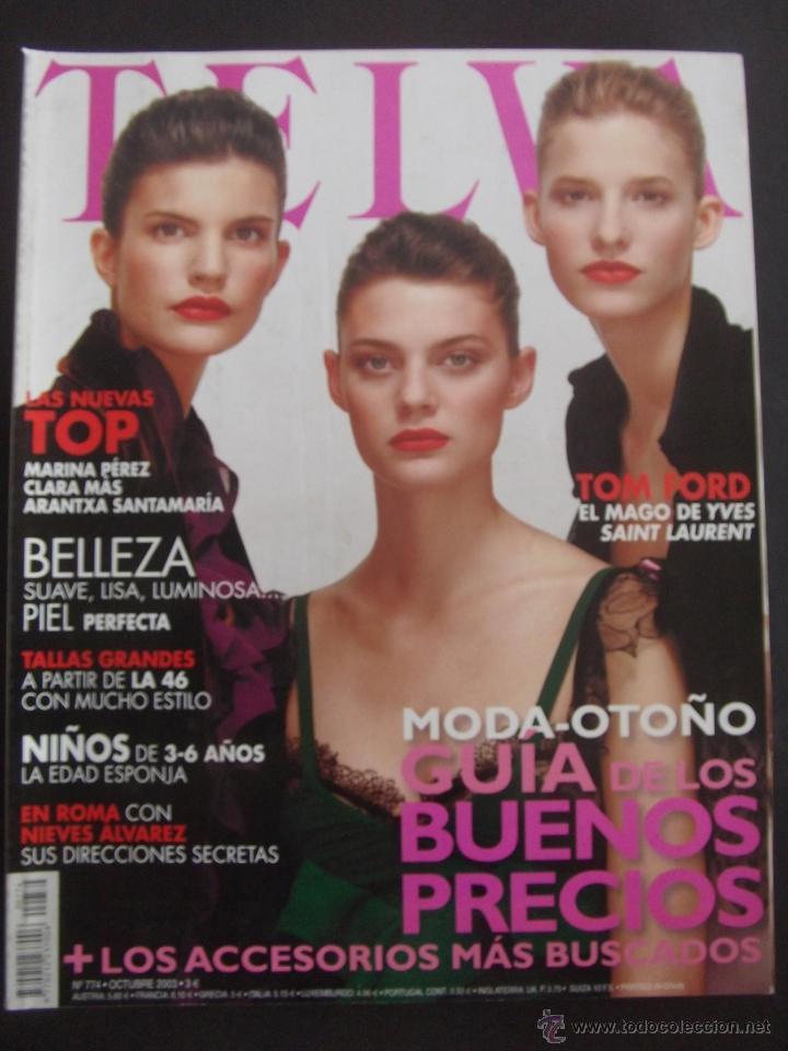 Revista Telva Año 2003 N 774 Marina Perez Clar Kaufen Andere