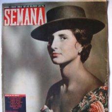 Coleccionismo de Revistas y Periódicos: REVISTA SEMANA 4 FEBRERO 1958-42 PÁG 33X26,5 CM-EL SATELITE JUPITER -EL OBSERVATORIO DE CHACALTAYA-. Lote 39714189