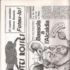 Coleccionismo de Revistas y Periódicos: REVISTA SATÍRICA AMB POTES ROSSES Nº 2. CATALUNYA.. Lote 39732955