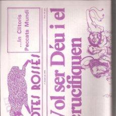 Coleccionismo de Revistas y Periódicos: REVISTA SATÍRICA AMB POTES ROSSES Nº 4. CATALUNYA.. Lote 39736569