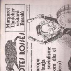Coleccionismo de Revistas y Periódicos: REVISTA SATÍRICA AMB POTES ROSSES Nº 8. CATALUNYA.. Lote 39737243