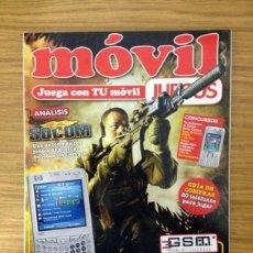 Coleccionismo de Revistas y Periódicos: MUNDO RETRO: MOVIL JUEGOS Nº 9 - REVISTA EXCLUSIVA DE JUEGOS PARA CELULARES. Lote 39767989