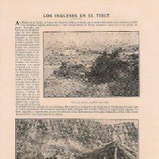 Coleccionismo de Revistas y Periódicos: LOS INGLESES EN EL TÍBET - 1904. Lote 39785875