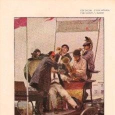 Coleccionismo de Revistas y Periódicos: * ODONTOLOGÍA * DENTISTAS * SIN DOLOR Y CON MÚSICA / ILUSTRACIÓN DE GARCÍA Y RAMOS - 1904. Lote 194883322