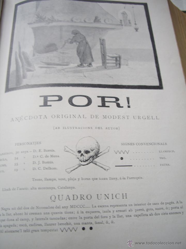 Coleccionismo de Revistas y Periódicos: Periódich Catalanista JOVENTUT Any 1901 Núm.47 al 98 Revista Setmanari Literatura, Ciencias i Arts - Foto 7 - 39824273