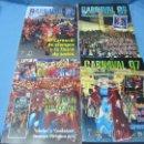 Coleccionismo de Revistas y Periódicos: REVISTAS CARNAVAL CARNAVALES DE BADAJOZ. Lote 39884469