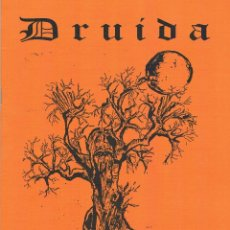 Coleccionismo de Revistas y Periódicos: REVISTA DRUIDA. AÑO 1 - Nº 5. REVISTA CULTURAL. FEBRERO MARZO DE 1998.. Lote 39958001
