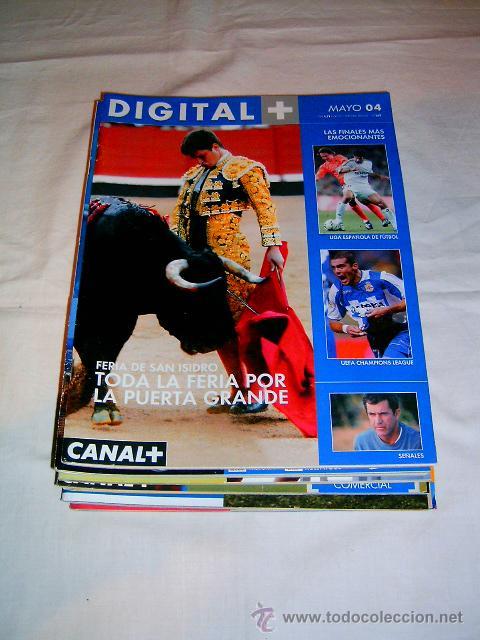 Coleccionismo de Revistas y Periódicos: REVISTAS DE CANAL SATÉLITE DIGITAL · DIGITAL + AÑO 2004 - Foto 2 - 39970566