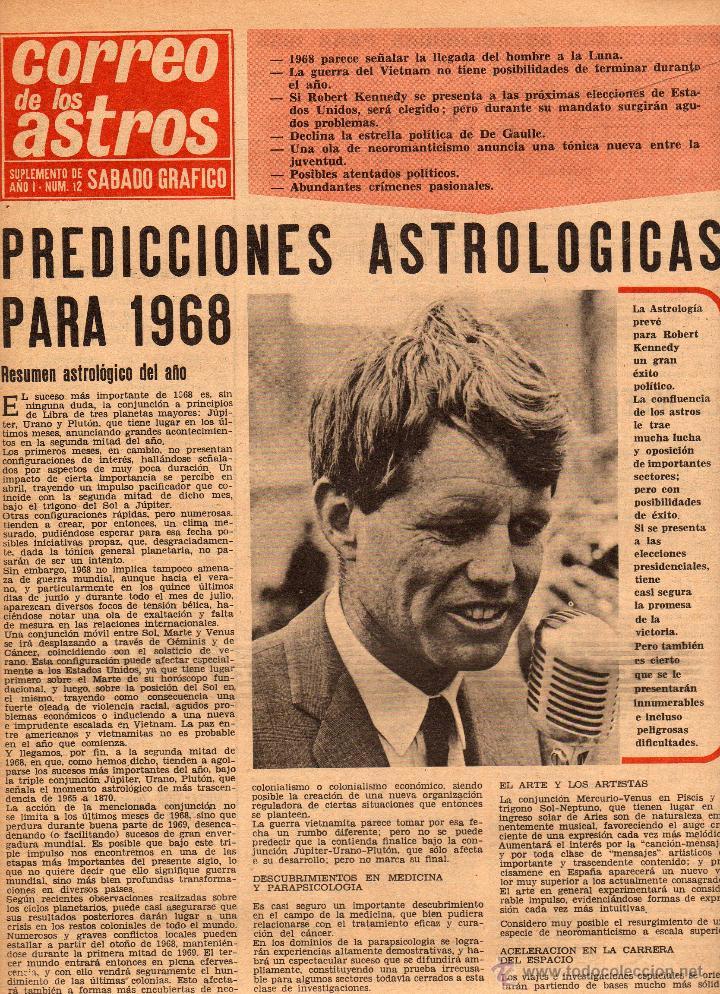 Coleccionismo de Revistas y Periódicos: Sábado gráfico nº 611, 15 de junio de 1968, robert kennedy la tercera victima - Foto 4 - 40020024