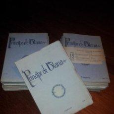Coleccionismo de Revistas y Periódicos: PRINCIPE DE VIANA - NÚMEROS I AL XV - AÑOS 1940-44 . Lote 40032244