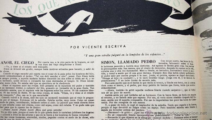 Coleccionismo de Revistas y Periódicos: REVISTA MUNDO HISPANICO NAVIDAD DICIEMBRE 1949 - Foto 6 - 40186836