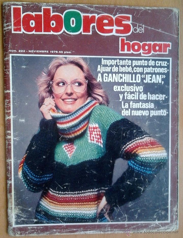 LABORES DEL HOGAR Nº222-NOVIEMBRE 1976 (Coleccionismo - Revistas y Periódicos Modernos (a partir de 1.940) - Otros)
