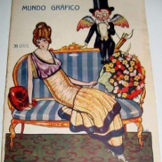 Coleccionismo de Revistas y Periódicos: ANTIGUA REVISTA - MUNDO GRAFICO Nº 182 - ABRIL 1915 - MUCHAS FOTOS DE ACTUALIDAD - TEATRO DE LA COME. Lote 38240863