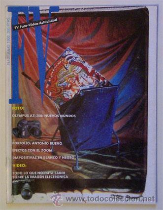 REVISTA DE FOTOGRAFÍA Y VÍDEO FV FOTO-VIDEO ACTUALIDAD - NÚMERO 2 - JULIO DE 1988 (Coleccionismo - Revistas y Periódicos Modernos (a partir de 1.940))