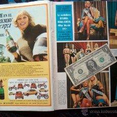 Coleccionismo de Revistas y Periódicos: REVISTA SEMANA / MISS MUNDO 1972 WORLD / DESI ARNAZ JR, LUDMILLA TCHERINA, CLAUDIA CARDINALE. Lote 101193031