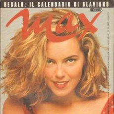Coleccionismo de Revistas y Periódicos: REVISTA ITALIANA MAX 1990 - GRETA SCACCHI. Lote 40261702