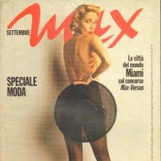 Coleccionismo de Revistas y Periódicos: REVISTA ITALIANA MAX 1993 - SHARON STONE. Lote 40262946