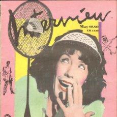 Coleccionismo de Revistas y Periódicos: REVISTA INTERVIEW - MAYO 1988. USA / LILY TOMLIN. Lote 40272019