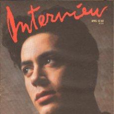 Coleccionismo de Revistas y Periódicos: REVISTA INTERVIEW - ABRIL 1989. USA / ROBERT DOWNEY JR.. Lote 40272939