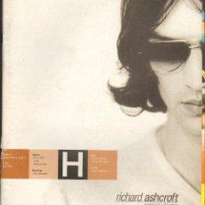Coleccionismo de Revistas y Periódicos: REVISTA PUNTO H, Nº 14 / JUNIO 2000 - RICHART ASHCROFT. Lote 40273414