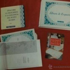 Coleccionismo de Revistas y Periódicos: ÁLBUM DE ESQUEMAS PUNTO DE RED ORBIS FABRI. Lote 40280583