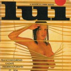 Coleccionismo de Revistas y Periódicos: LUI 122 - MARS 1974 - 120 PAGINAS - CON POSTER. Lote 40311177