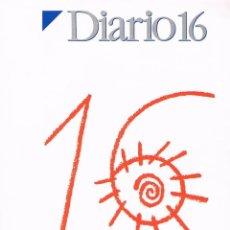 Coleccionismo de Revistas y Periódicos: REVISTA ESPECIAL DIARIO 16 ANIVERSARIO 1976/1992 (226 PÁGINAS). Lote 40323446