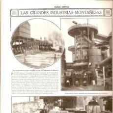 Coleccionismo de Revistas y Periódicos: AÑO 1916 TRIANA SEVILLA HUNDIMIENTO MUELLE CONCURSO CARTELES GAL NUEVA MONTAÑA TIPOS MALLORCA . Lote 40325981