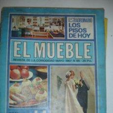 Coleccionismo de Revistas y Periódicos: REVISTA EL MUEBLE LA COCINA. Lote 40329407