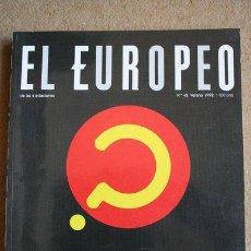 Collezionismo di Riviste e Giornali: REVISTA. EL EUROPEO. Nº 42. DE LAS 4 ESTACIONES. VERANO 1992. ¿POR QUÉ SOMOS TAN HORTERAS?. Lote 40339899