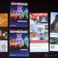Coleccionismo de Revistas y Periódicos: LOTE ALEMANIA/DEUTSCHLAND. GUÍAS, MAPA, PROGRAMA EVENTOS AÑO 2007. Lote 40401456