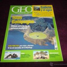 Coleccionismo de Revistas y Periódicos: GEO Nº 226: ISLAS GALÁPAGOS, CRÓNICA DE UN EMIGRANTE, GALÍCIA Y EL AGUA, SIBERIA/2. Lote 40470542