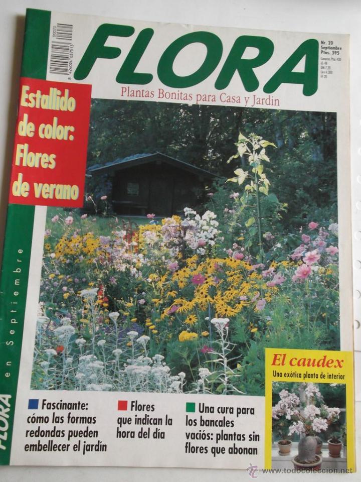Revista flora n 20 plantas bonitas para casa comprar for Casa y jardin revista