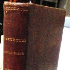 Coleccionismo de Revistas y Periódicos: TOMO ENCUARDERNADO CON APROXIMADAMENTE 25 NºS REVISTA ACTUALIDADES ·· AÑO 1902 ·· VER DESCRIPCIÓN. Lote 40485897