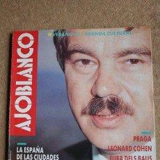 Coleccionismo de Revistas y Periódicos: REVISTA AJOBLANCO. NÚMERO 9. JULIO-AGOSTO 1989. PASQUAL MARAGALL. FRANCIA, LA REVOLUCIÓN DEL MINITEL. Lote 40524321