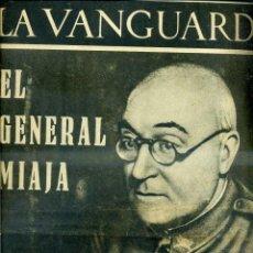 Coleccionismo de Revistas y Periódicos: LA VANGUARDIA NOTAS GRÁFICAS GUERRA CIVIL 12 NOVIEMBRE 1936 GENERAL MIAJA - FRENTE DE ARAGÓN. Lote 40619360