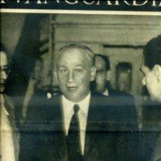 Coleccionismo de Revistas y Periódicos: LA VANGUARDIA NOTAS GRÁFICAS GUERRA CIVIL 10 SEPTIEMBRE 1936 LARGO CABALLERO. Lote 40619893