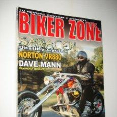 Coleccionismo de Revistas y Periódicos: REVISTA BIKER ZONE Nº 129 / HARLEY-DAVIDSON CUSTOM CHOPPER . Lote 40656695