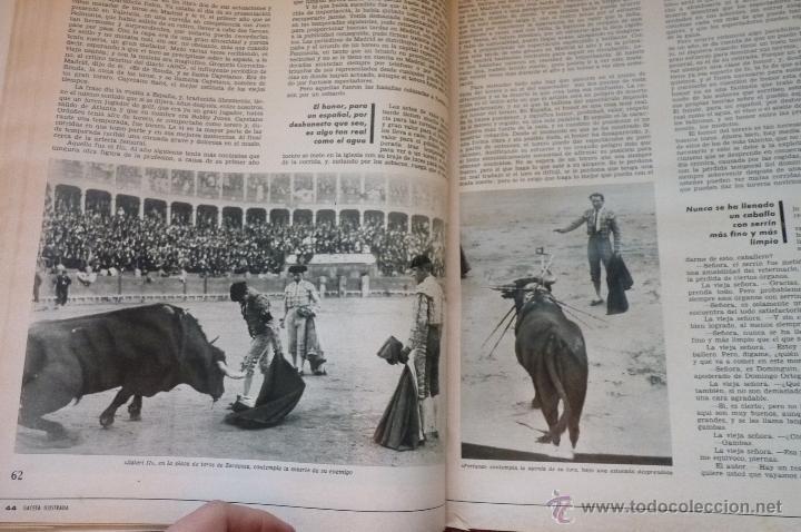 Coleccionismo de Revistas y Periódicos: LIBRO, REVISTA TAUROMAQUIA, LA GACETA MUERTE EN LA TARDE ERNEST HEMINGWAY Y PICASSO ARTE Y TOROS - Foto 4 - 53504210