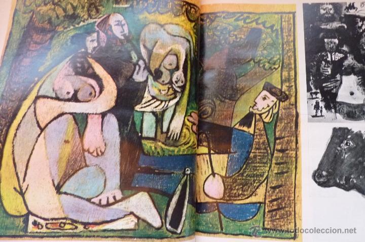 Coleccionismo de Revistas y Periódicos: LIBRO, REVISTA TAUROMAQUIA, LA GACETA MUERTE EN LA TARDE ERNEST HEMINGWAY Y PICASSO ARTE Y TOROS - Foto 6 - 53504210