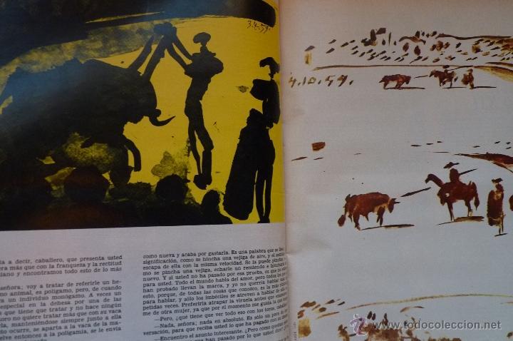 Coleccionismo de Revistas y Periódicos: LIBRO, REVISTA TAUROMAQUIA, LA GACETA MUERTE EN LA TARDE ERNEST HEMINGWAY Y PICASSO ARTE Y TOROS - Foto 9 - 53504210