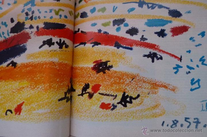Coleccionismo de Revistas y Periódicos: LIBRO, REVISTA TAUROMAQUIA, LA GACETA MUERTE EN LA TARDE ERNEST HEMINGWAY Y PICASSO ARTE Y TOROS - Foto 11 - 53504210