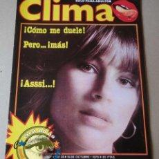 Coleccionismo de Revistas y Periódicos: CLIMA # 32 / 1979 ~ VER FOTOS DESCRIPCIÓN ~ SADOMASOQUISMO. Lote 40671845