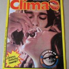 Coleccionismo de Revistas y Periódicos: CLIMA # 31 / 1979 ~ VER FOTOS DESCRIPCIÓN ~ SADOMASOQUISMO. Lote 40671877