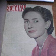 Coleccionismo de Revistas y Periódicos: REVISTA SEMANA / AÑO 1949 NÚMEROS DEL 463 AL 488 ENCUADERNADOS EN 1 TOMO. Lote 40680760