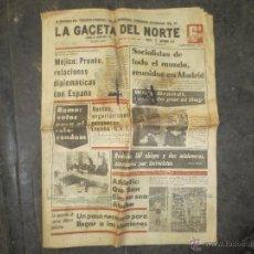 Coleccionismo de Revistas y Periódicos: LA GACETA DEL NORTE. ATHLETIC DE BILBAO.. Lote 40692731