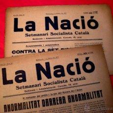 Coleccionismo de Revistas y Periódicos: LA NACIÓ - 4 REVISTES - Nº 87 - 89 - 90 - 91 - 1917. Lote 40692902