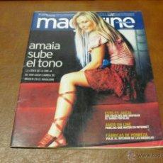 Coleccionismo de Revistas y Periódicos: REV. 7/2004 MAGAZINE.-AMAIA MONTERO,AMPLIO RPTAJE.VIAJE A JAUJA,HONDURAS,. Lote 40741856