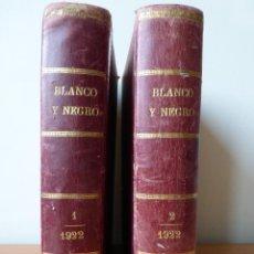 Coleccionismo de Revistas y Periódicos: REVISTA BLANCO Y NEGRO 1922. Lote 40750965