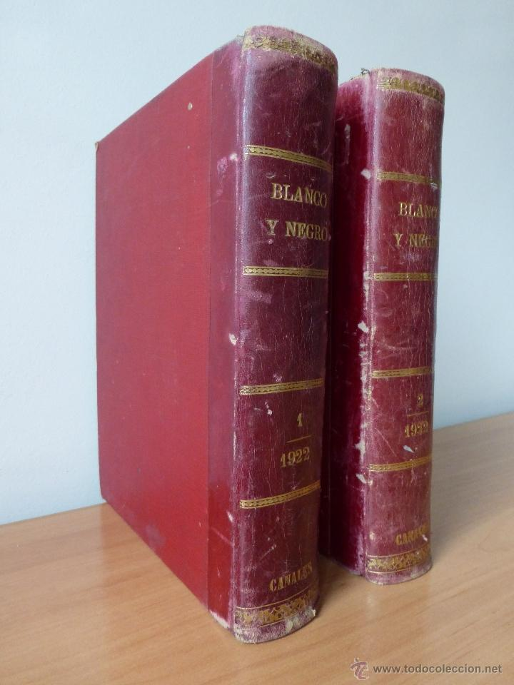 Coleccionismo de Revistas y Periódicos: REVISTA BLANCO Y NEGRO 1922 - Foto 2 - 40750965